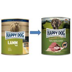 Happy Dog Pur Bárány 400 gr