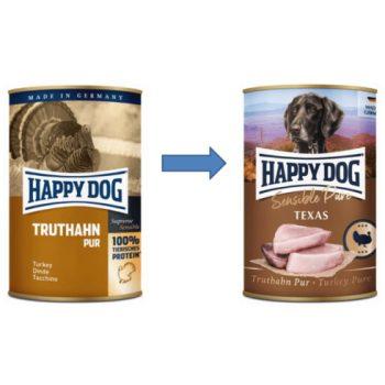 Happy Dog Pur Pulyka 800 gr