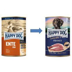 Happy Dog Pur Kacsa 400 gr