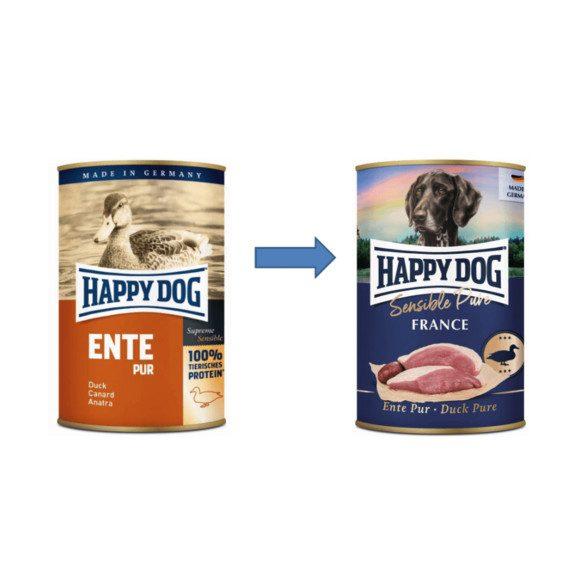 Happy Dog Pur Kacsa 800 gr