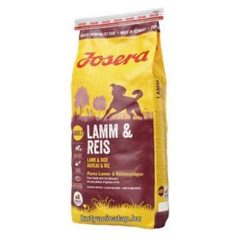 Josera Adult lamb & rice 15 kg