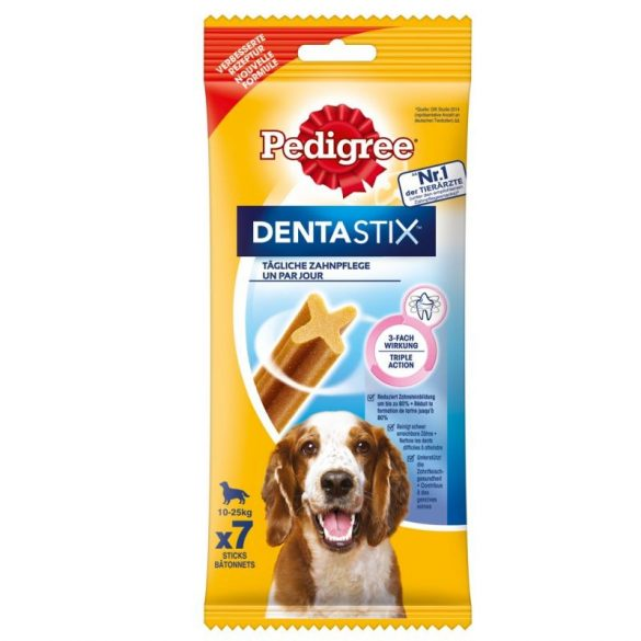 Pedigree Dentastix közepes testű kutyáknak 7db