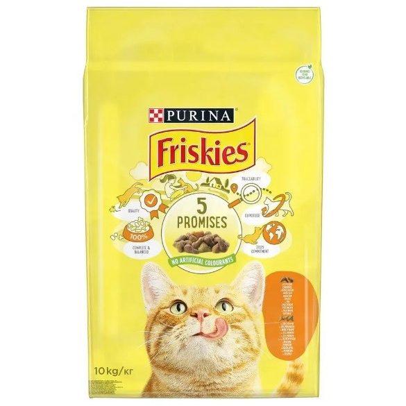 Friskies adult több féle ízben 10 kg
