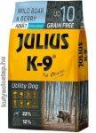 Julius-K9 Utility Dog Adult vaddisznó és áfonya 10kg