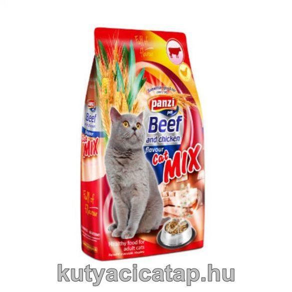 Cat mix marhával és csirkével 10 kg