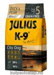 Julius-K9 City Dog Adult kacsa-körte 10 kg