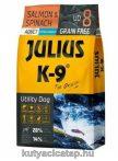 Julius K-9 Adult Utility Dog Lazac és Spenót 10 kg