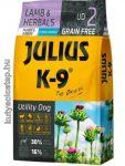 Julius-K9 Grain Free Hypoallergenic Utility Dog Puppy & Junior bárány és gyógynövény 10 kg