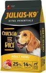Julius K-9 Vital Essentials Adult Csirke-rizs 12kg