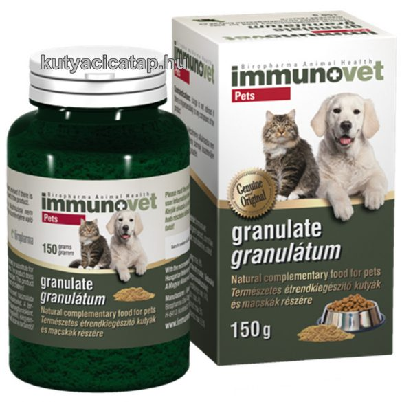 Immunovet Pets Immunerősítő Granulátum 150g