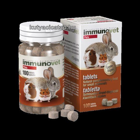 Immunovet Pets étrendkiegészítő kisállatoknak 100 db
