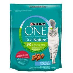 Purina One Dual Nature adult csirke macska szárazeledel 750 gr