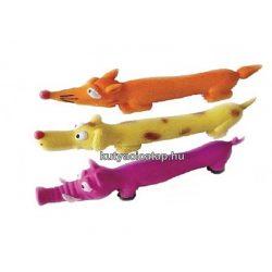 Játék latex állatfigurák