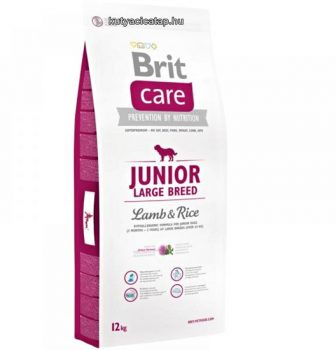 Brit Care Junior Large Breed Bárány-rizs 12kg
