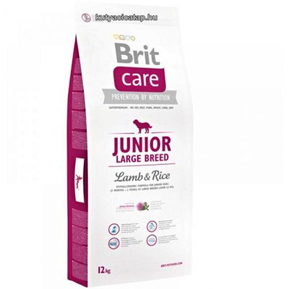 Brit Care Junior Large Breed Bárány-rizs 12kg