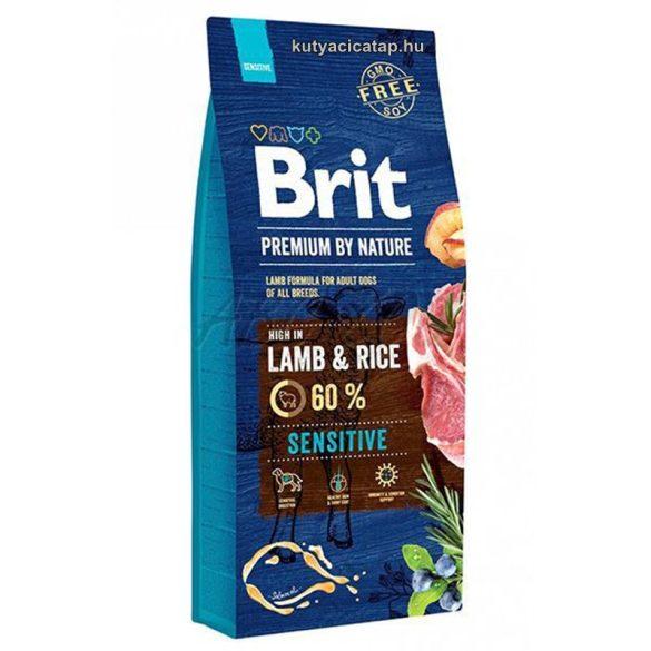 Brit Premium  Sensitive Bárány-rizs 15kg